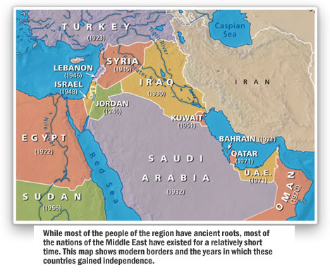 The Creation Of The Modern Middle East The Middle East In Bible - Middle east political map 1900