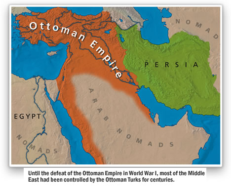 World Map 1900 Middle East.The Creation Of The Modern Middle East The Middle East In