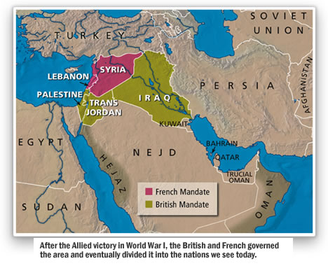 The Creation of the Modern Middle East > The Middle East in Bible Prophecy